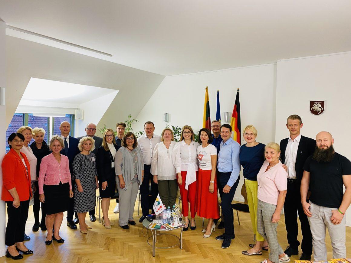 Pasaulio lietuvių vienmandatės apygardos debatai Berlyne (Foto: Ž. Kalvaitis)